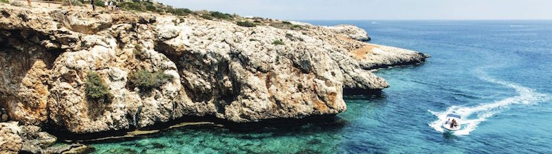Cyprus is a major tourist destination in the Mediterranean