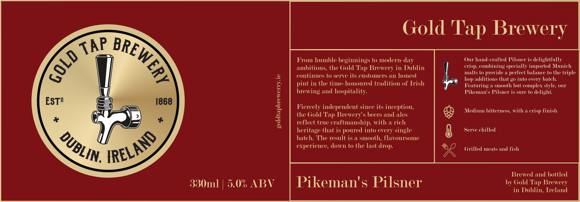 Gold-Tap-Brewery-Label-Red