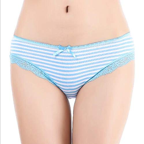 Pure Cotton Striped Panties Imported