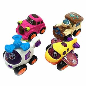 Unbreakable Automobile Toy Set