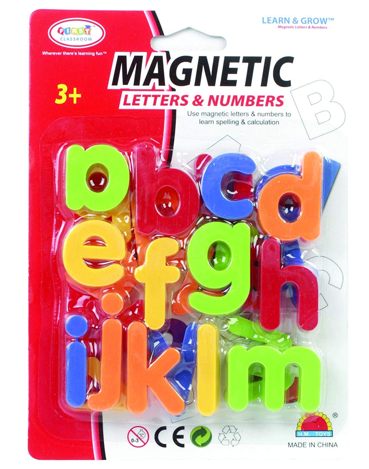 Magnetic Letters Lower Case