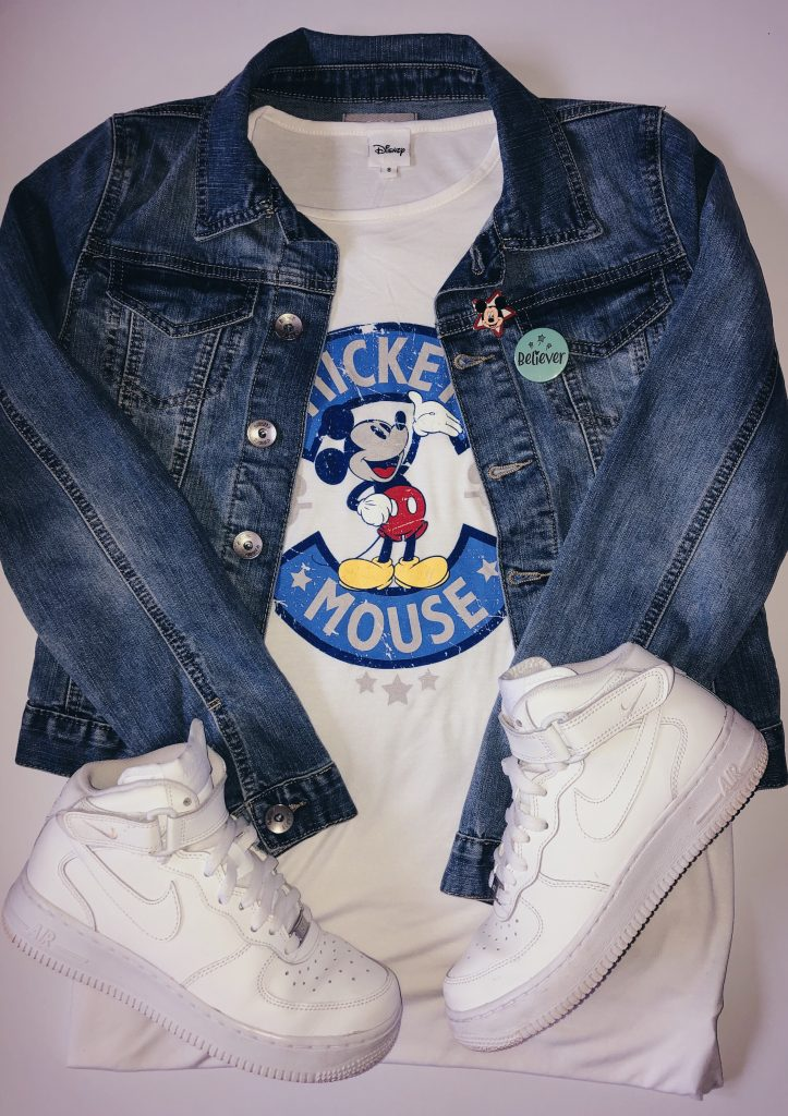 Disney outfit and Nike air