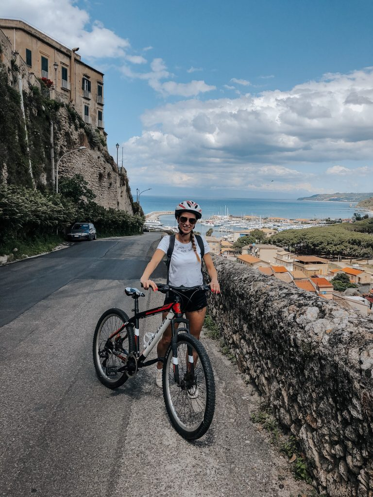 Bike riding in Tropea