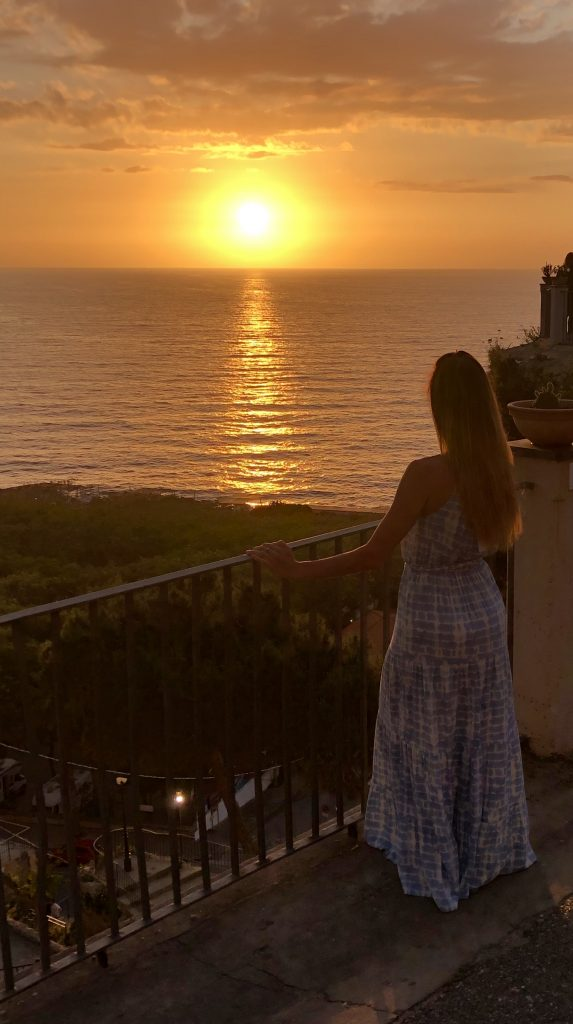 Amazing sunsets in Tropea