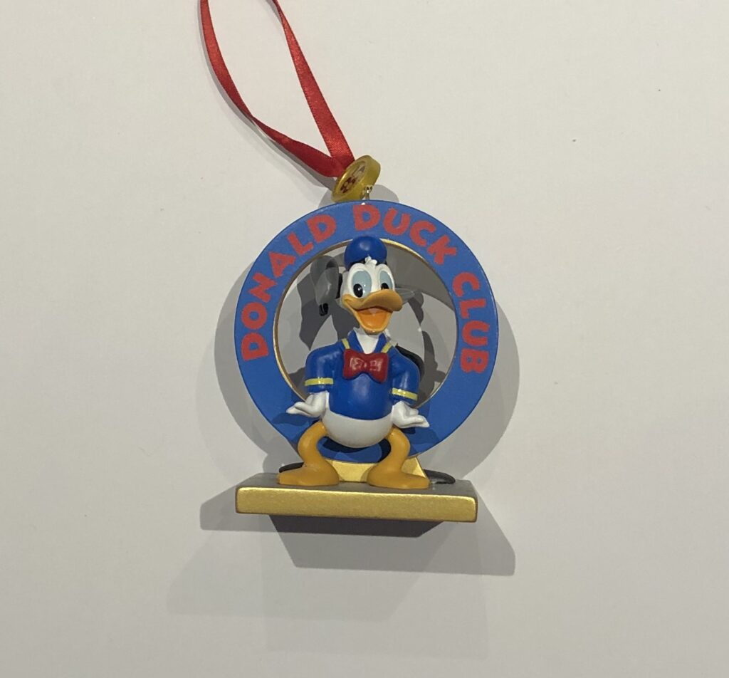 Donald Duck Tree Ornament
