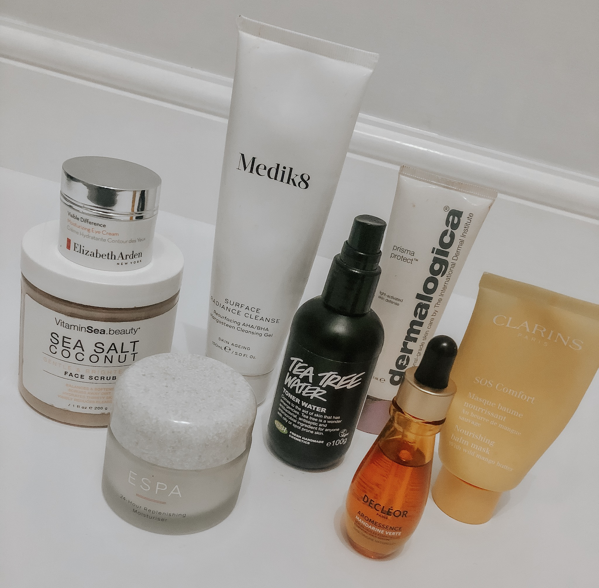 Favourite skincare products