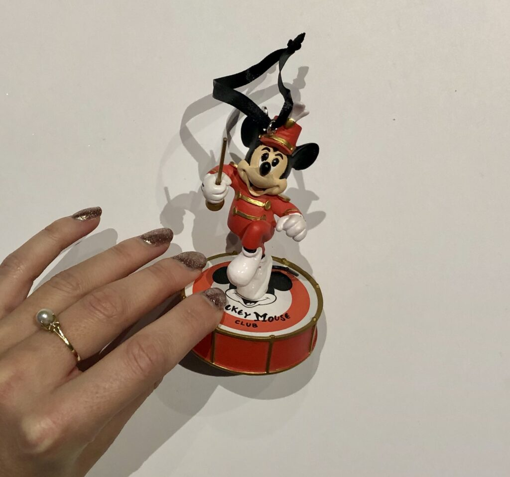 Mickey Mouse Club Tree Ornament