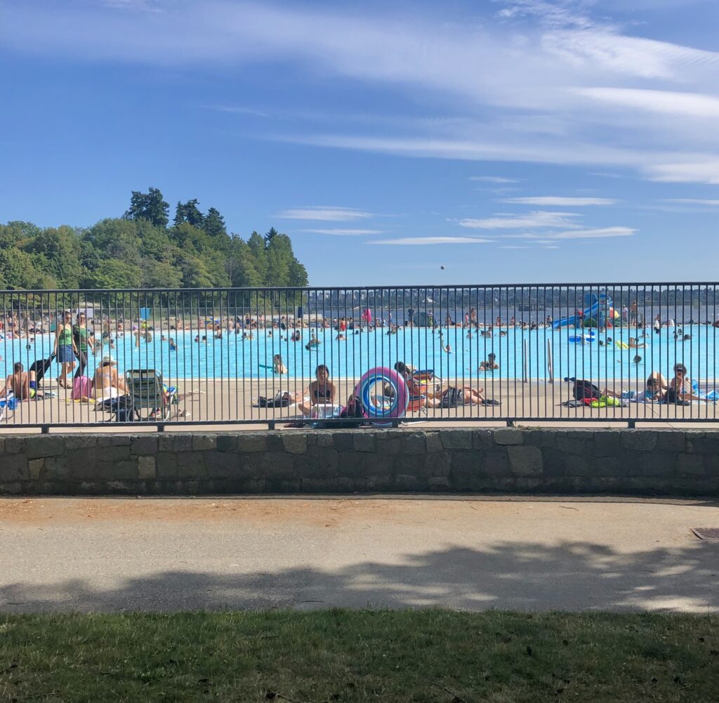 Swimming Pool in Stanley Park, Vancouver