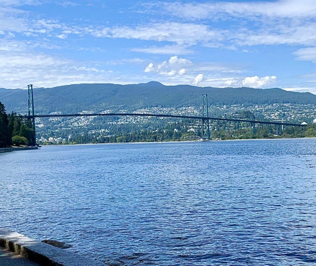View of Lions Gate Bridge