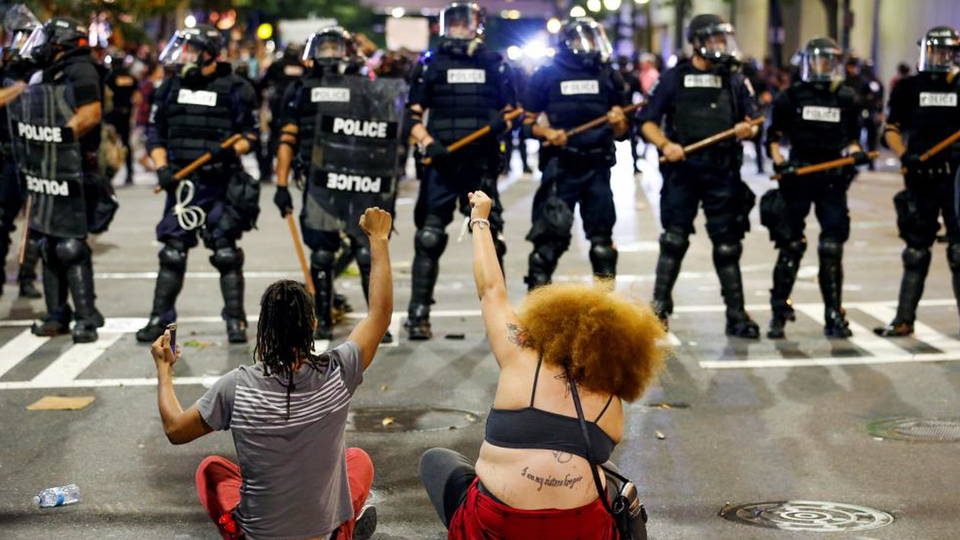 Charlotte: Protesters Demand Police Release Video of Keith Scott's Killing