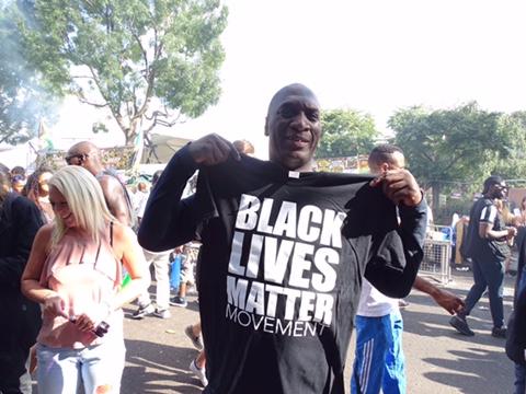 Buy Black Lives Matter t-shirts $13/£10