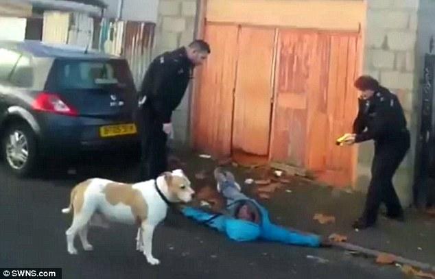 Racist Bristol police Taser their own race relations adviser
