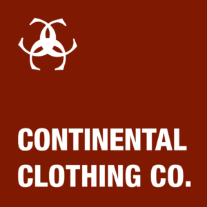 continental clothing co logo
