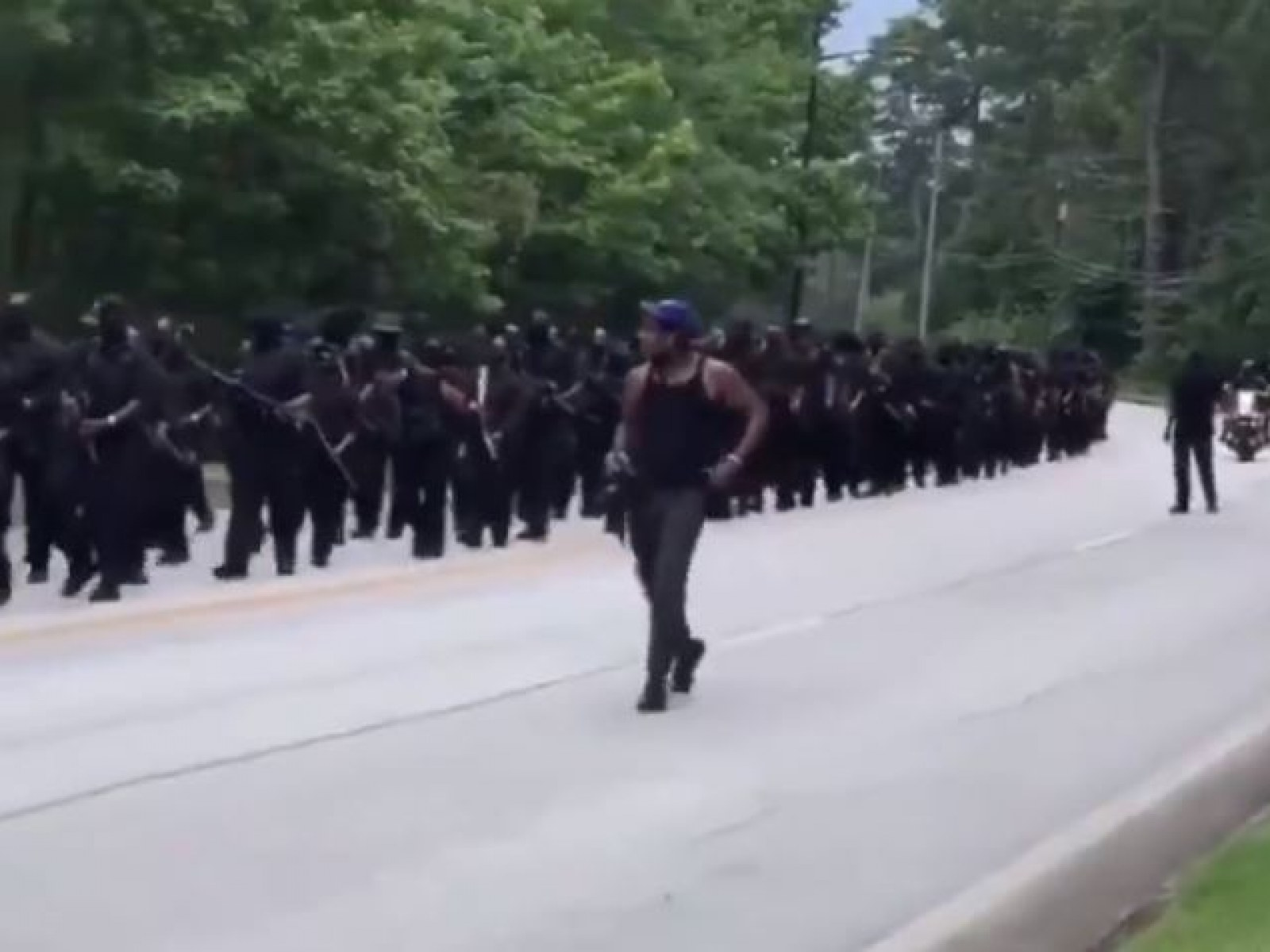 Wow! NFAC Black nationalist armed militia challenges far-right
