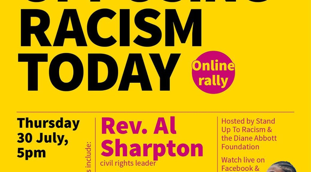 al sharpton diane abbott online meeting