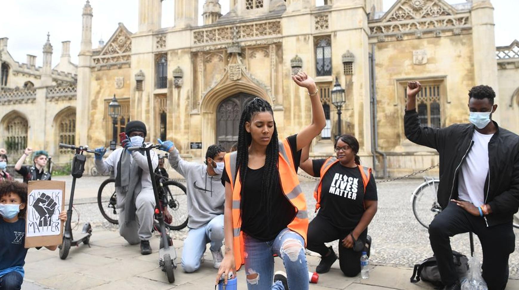 """Video: Cambridge BLM protest: """"No justice, no peace – no racist police"""""""
