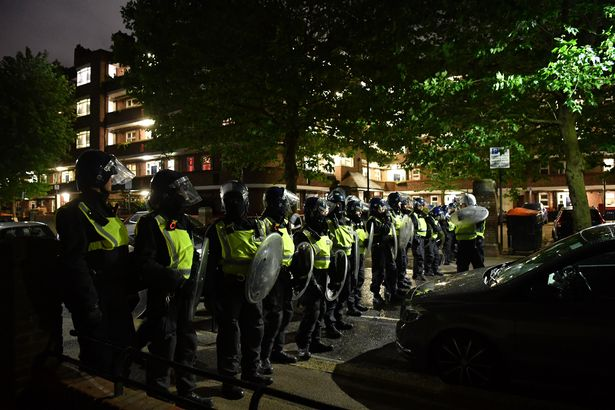 Block party policing is racist: Covid laws excuse by riot police to terrorise London estates