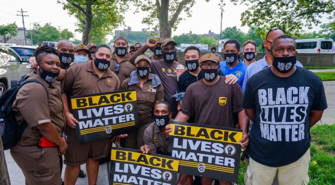 Solidarity with black lives matter: US workers Strike For Black Lives