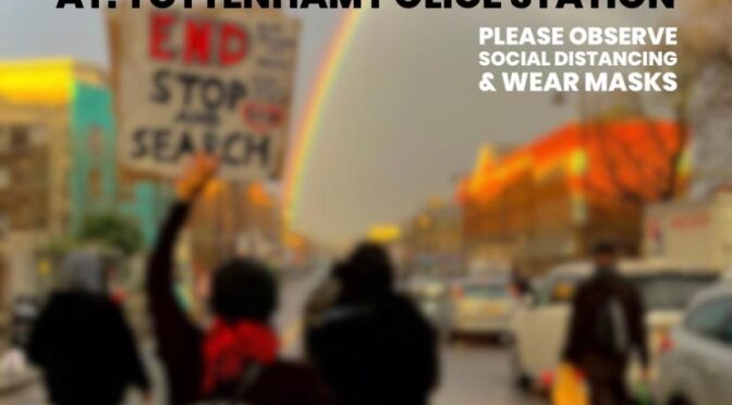 Tottenham march to demand justice for Black youth, protest 19 Dec