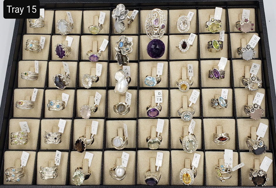 CLASSIC RINGS – TRAY 15