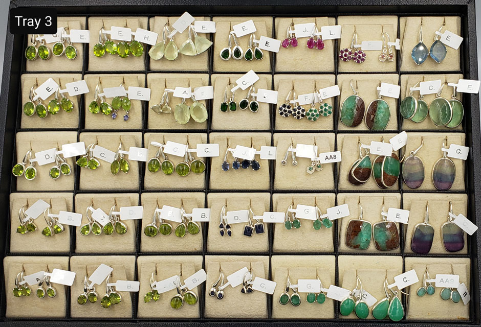 CLASSIC EARRINGS – TRAY 3