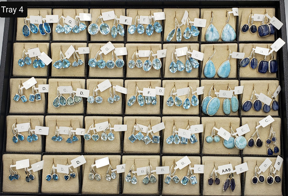 CLASSIC EARRINGS – TRAY 4