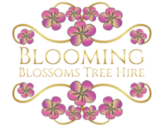 Blooming Blossom Tree Hire Logo
