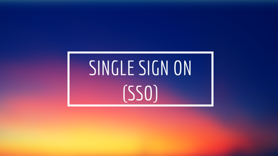 Single SIGN ON (SSO) using Cookie