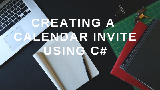 creating a calendar invite using C#