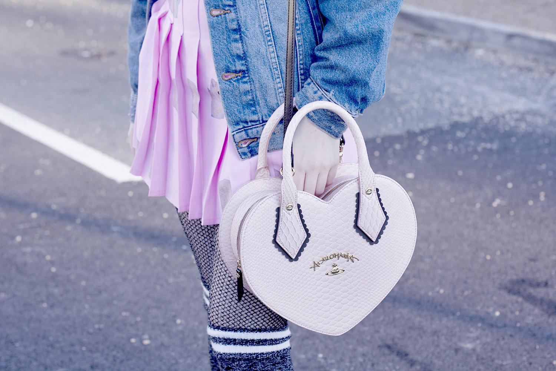 Vivienne Westwood Heart Bag