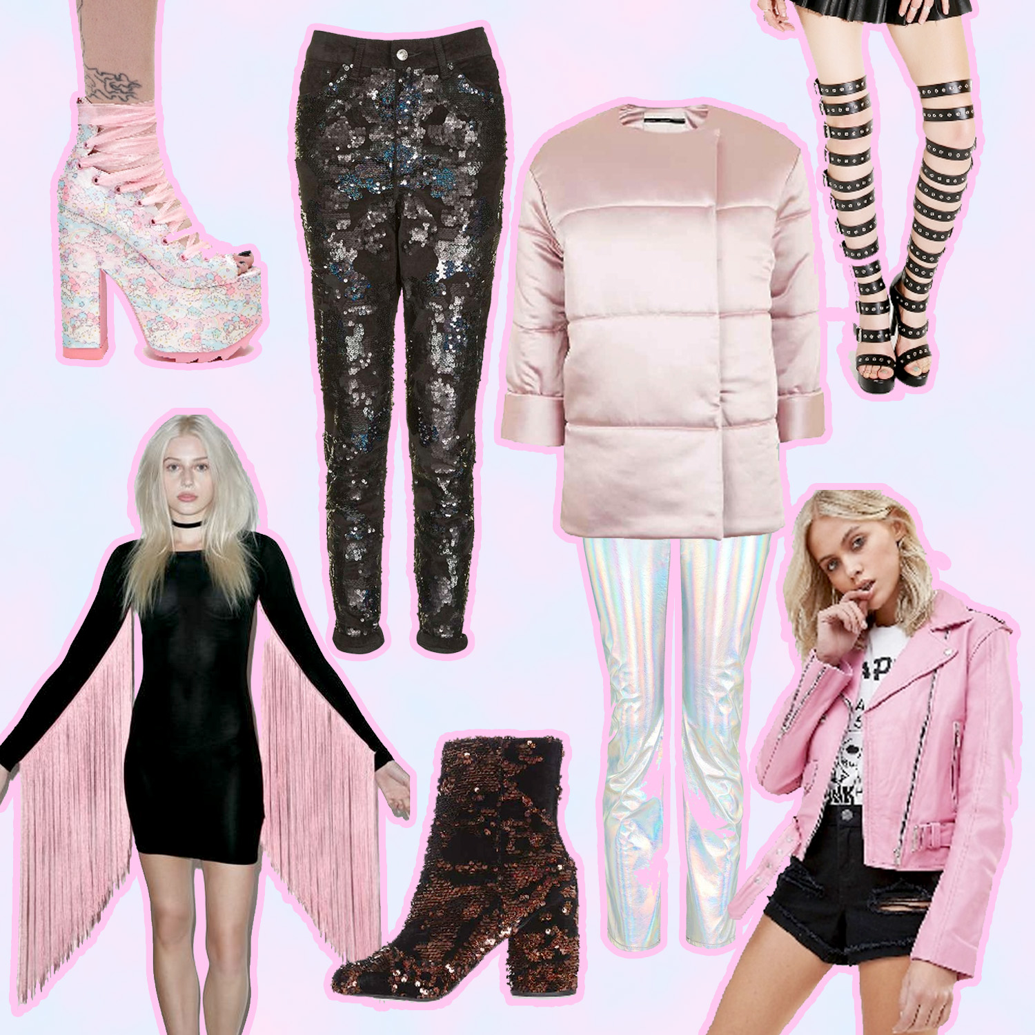 Holiday sale, January sale, boxing day sale, topshop, asos, the ragged priest, sequins, dolls kill
