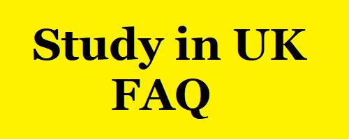 FAQ Study in UK