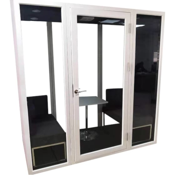 office meeting pod soundproof privacy booths
