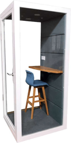 soundproof office phone booth privacy pod
