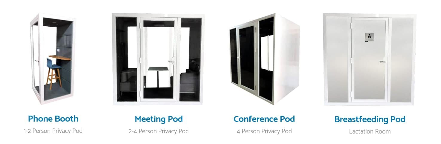 soundproof office meeting pod confidential meeting booth