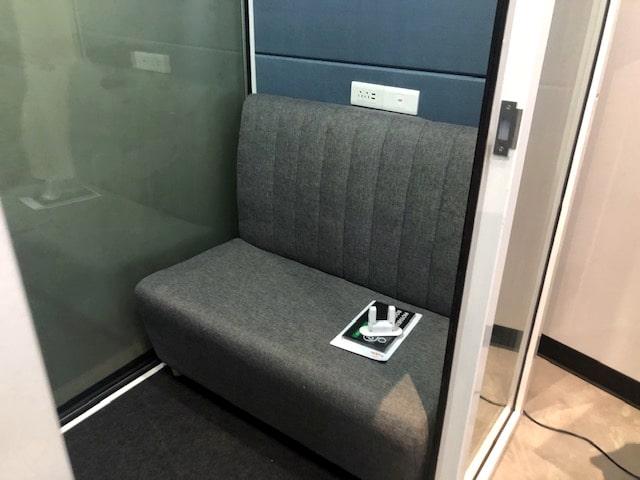 turnkey office meeting pod
