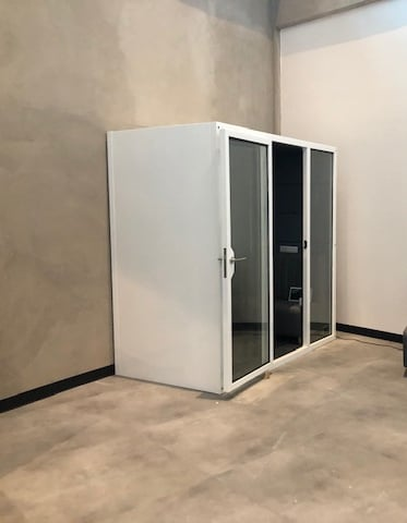soundproof office meeting pod booth