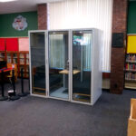 soundproof office meeting pod phone booth