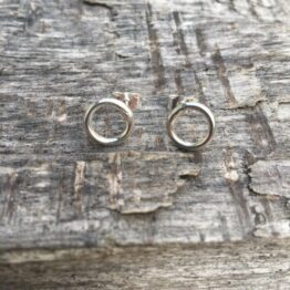 Chilli Designs Circle Ring Studs 1