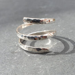 Chilli Designs spiral ring
