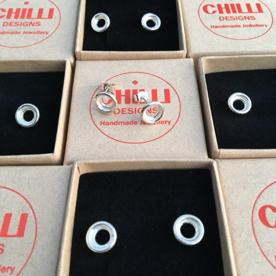 Chilli Designs double circle studs 3