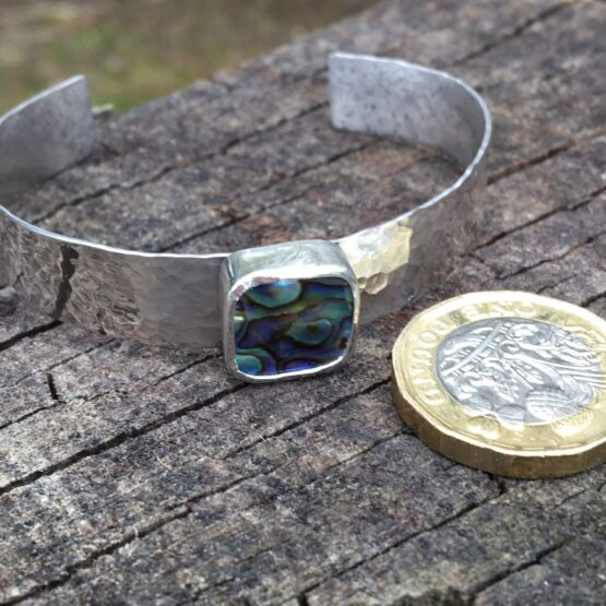 Chilli Designs paua shell cuff