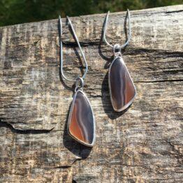 botswana agate necklace Chilli Designs