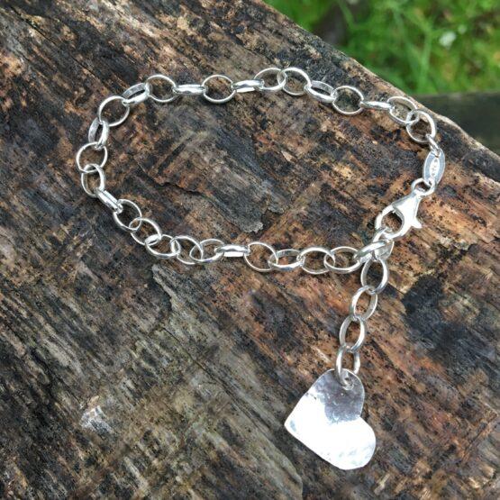 heart bracelet Chilli Designs