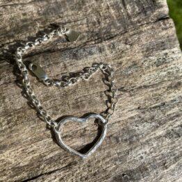 Chilli Designs heart bracelet