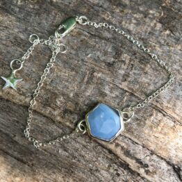 Chilli Designs blue opal bracelet