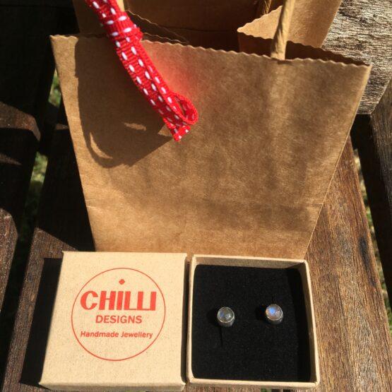 Chilli Designs Labradorite studs