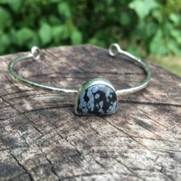 Chilli Designs obsidian cuff