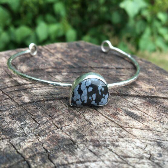 Chilli Designs obsidian cuff