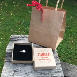 Chilli Designs coffee bean ring